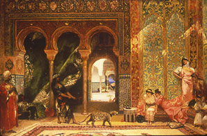 Above Hand woven rug. A gift from the King of Morocco. & The Sultanu0027s Tent u0026 Café Moroc   History u0026 Traditions